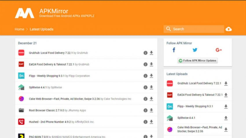 2 Situs Aman Teratas untuk Mengunduh File APK secara Gratis